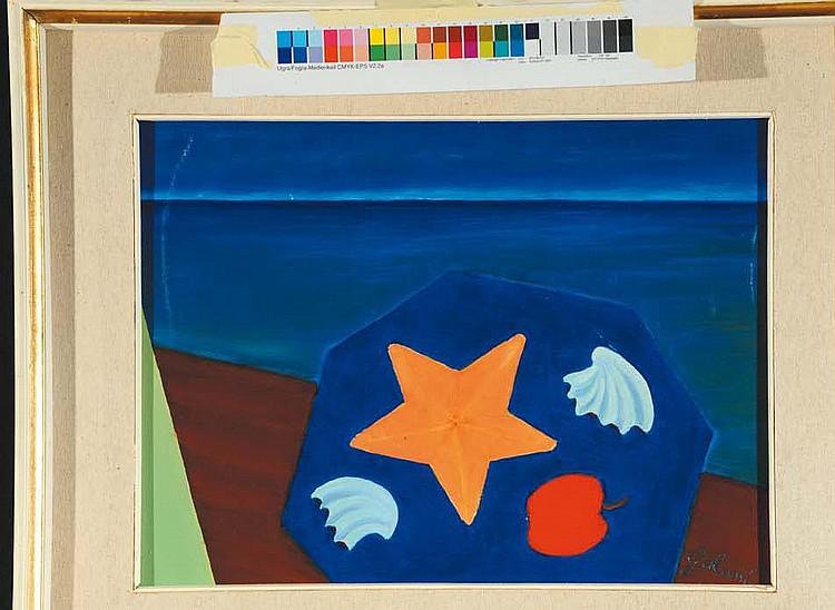 Nicola Galante (1883-1969) Paesaggio marino, 1968