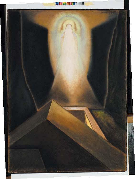 Alberto Martini (1876-1954) Apparizione pastello