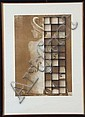 Bruno Di Bello (1938) Man Ray serigrafia su carta,, Bruno DiBello, Click for value