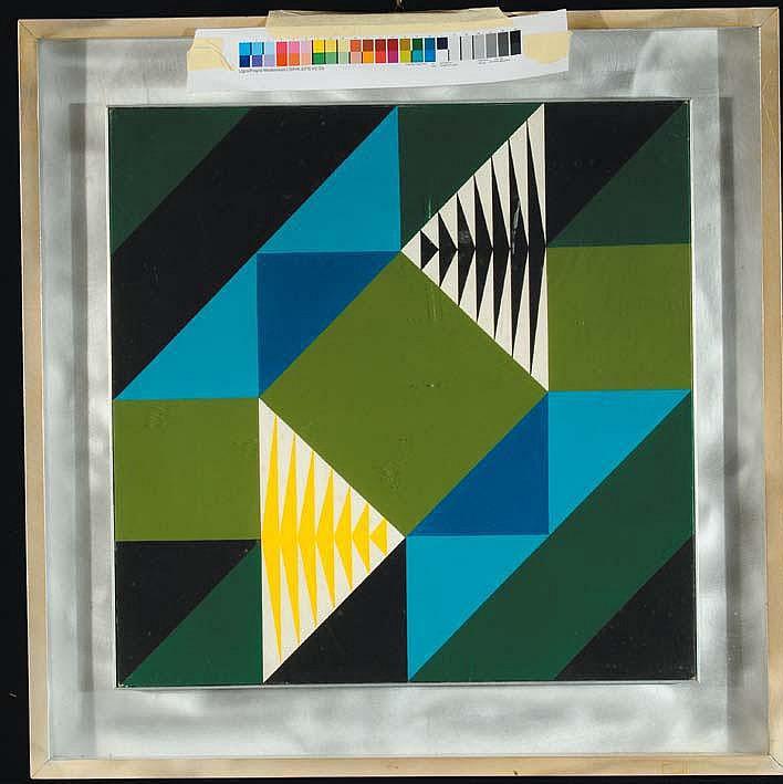 Enzo Cacciola (1945) Senza titolo olio su tela, cm