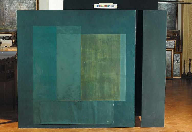 Enzo Cacciola (1945) 5-1-74 olio su tela, cm