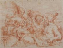 Scuola italiana del XVII secolo, Allegoria delle quattro stagioni (controprova)