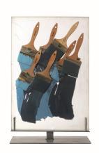 Fernandez Arman (1928-2005), Pinceux Bleus, 1990