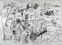 Emilio Vedova (1919-2006), Le lavagne di Salisburgo, 1975
