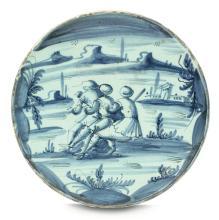 Sottocoppa Savona, prima metà del XVIII secolo,