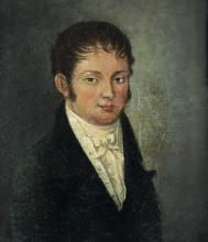 Scuola del XVIII-XIX secolo, Ritratto maschile
