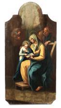 Scuola italiana del XVIII secolo, Sacra Famiglia