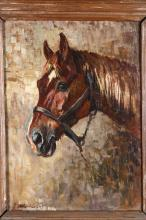 Raymond Louis Lecourt (1882 - 1946), Testa di cavallo