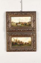 Robert Stone (1820 - 1870), Hunting scenes