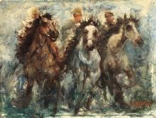 Julian Alden Weir (1852 - 1919), Gran Prix, 1908