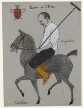 Carlo de Fornaro (1872 - 1949), Al gioco del polo
