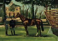 A. Azais, Il cavallo Osoppo, 1980