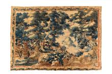 A Flemish landscape tapestry, 17th century