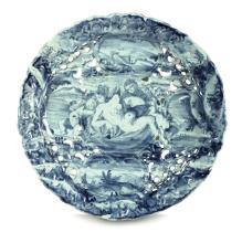 Sottocoppa traforata Albisola, manifattura Conrado, fine del XVII secolo,
