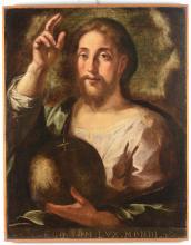 Giulio Cesare Procaccini (1574-1625), nei modi di, Salvator mundi
