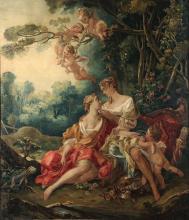Scuola del XVIII secolo, Scena mitologica
