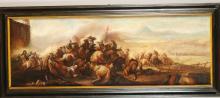 Pittore del XIX secolo, Coppia di battaglie