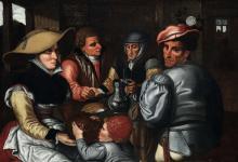 Pieter Aertsen (1507/08 - 1575), ambito di, Interno di taverna
