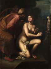 Scuola del XVII secolo, Susanna e i vecchioni