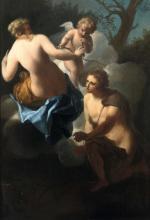 Scuola del XVIII secolo, Coppia di scene mitologiche