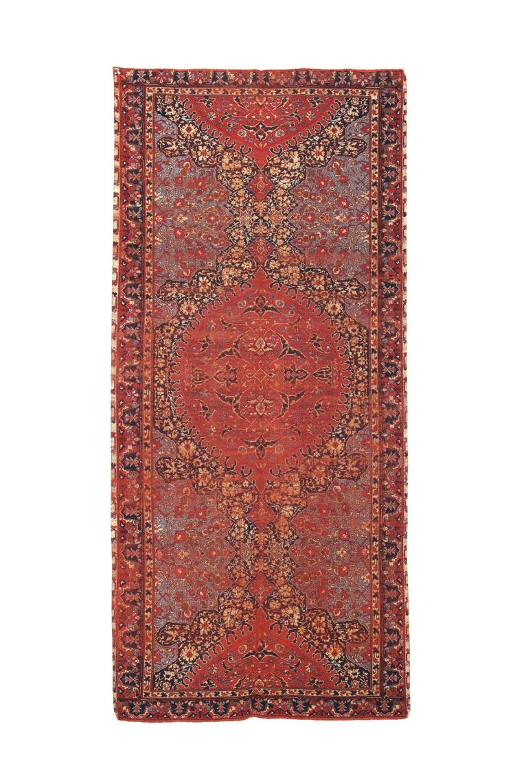 Inusuale piccolo tappeto Ushak ovest Anatolia, fine XVI seco