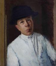 Oscar Ghiglia (1876-1945), Ritratto di signora