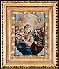 'Scuola Napoletana del XVIII secolo ''Madonna con Bambino'''