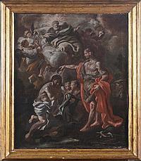 'Giacinto Diano (1731-1804), cerchia di ''Battesimo di Gesù'''