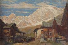 Mario Moretti Foggia (1882-1954), Ottobre in alta montagna