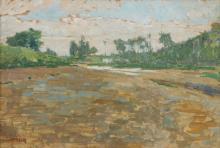 Giuseppe Sacheri (Genova 1863 - Pianfei 1950), Paesaggio