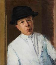 Oscar Ghiglia (876-1945), Ritratto femminile