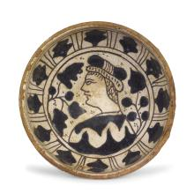A bowl, central Italy (probably Viterbo), first half of the 15th century