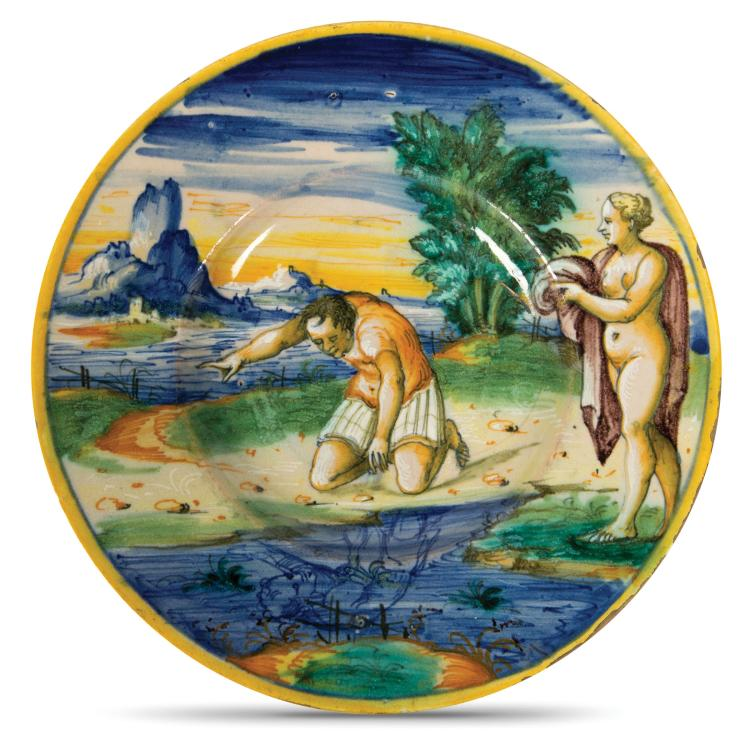 A plate, Venice, Mastro Domenego workshop, 1560-70