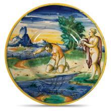 A plate, Venice, Mastro Domenego workshop, 1560-70