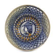 Piccolo piatto Faenza, fine del XV secolo,