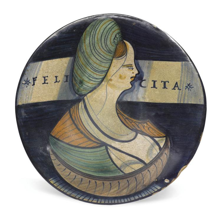 A plate, Faenza, early 16th century
