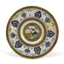 A plate, Faenza, first half of the 16th century