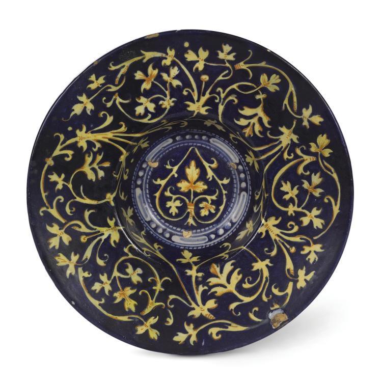 A plate, Faenza, circa 1535