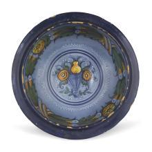 A bowl, Faenza, circa 1535