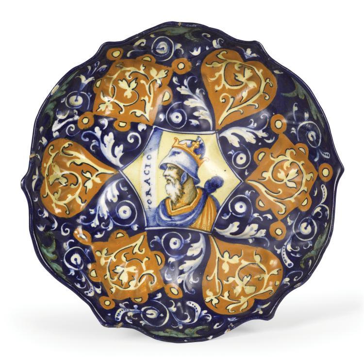 A bowl, Faenza, 1550-60