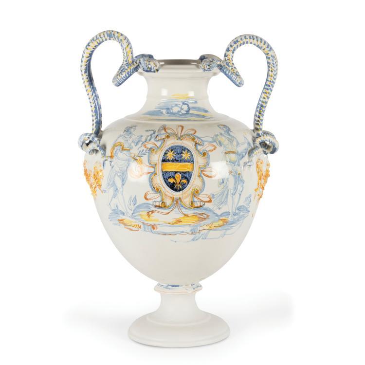 An amphora, Faenza, circa 1560