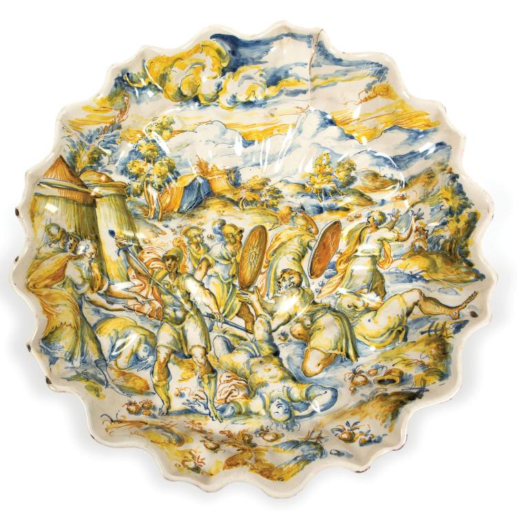 A great bowl, Faenza, Leonardo Bettisi (called