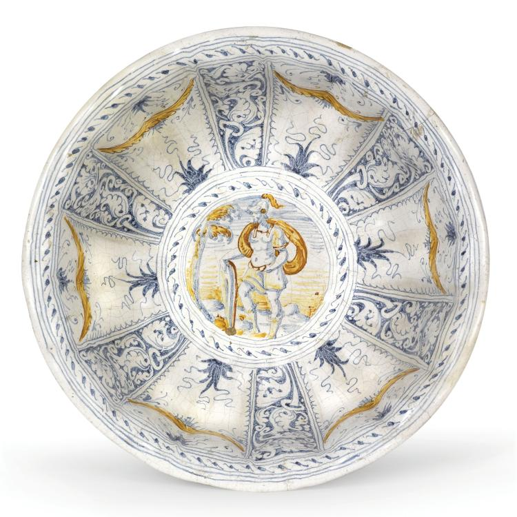 A basin, Faenza, last quarter of the 16th century