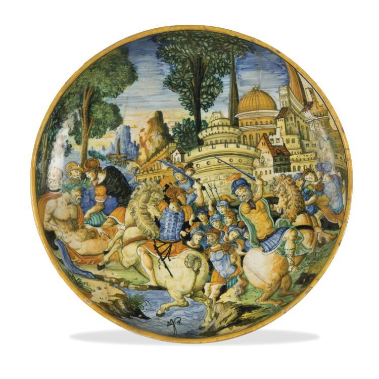 A bowl, Urbino, Guido di Merlino workshop, 1543