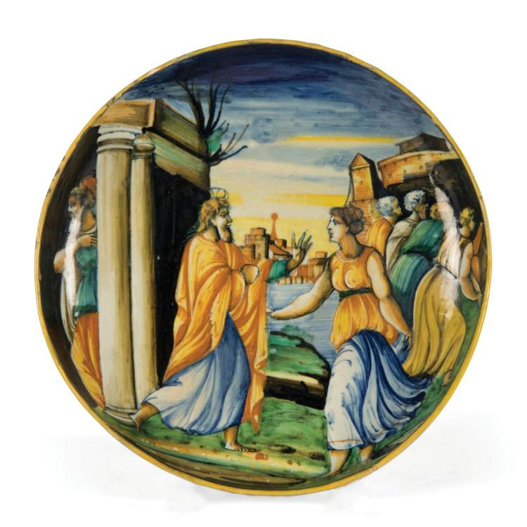 A bowl, Urbino, Guido di Merlino workshop, circa 1550