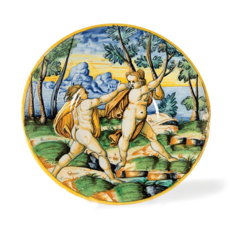 A plate, Urbino, last quarter of the 16th century