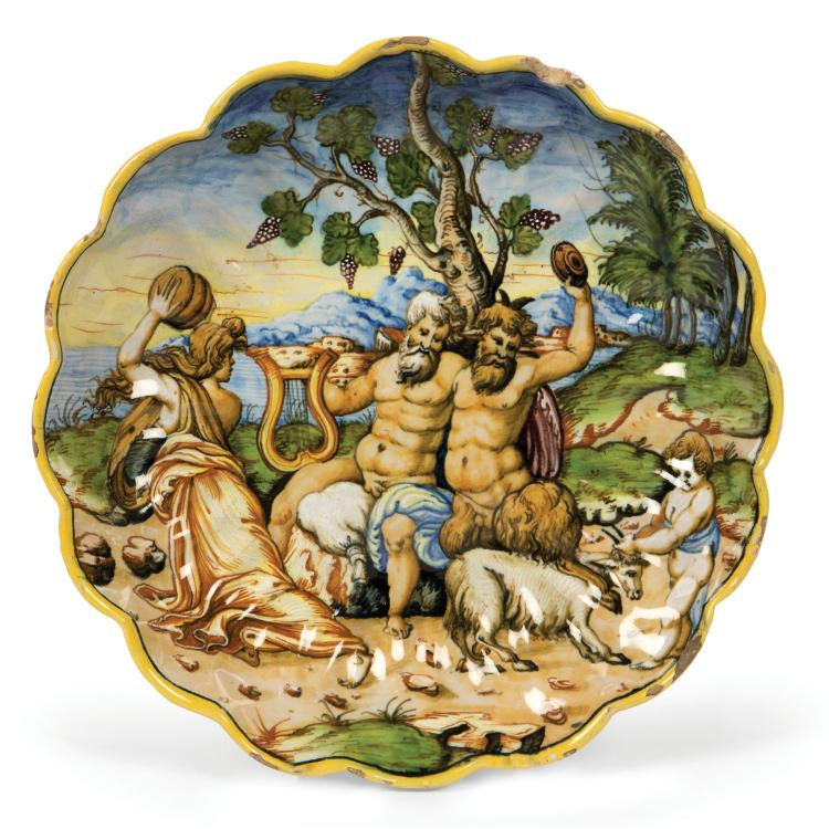 A bowl, Rimini (?), circa 1560-65