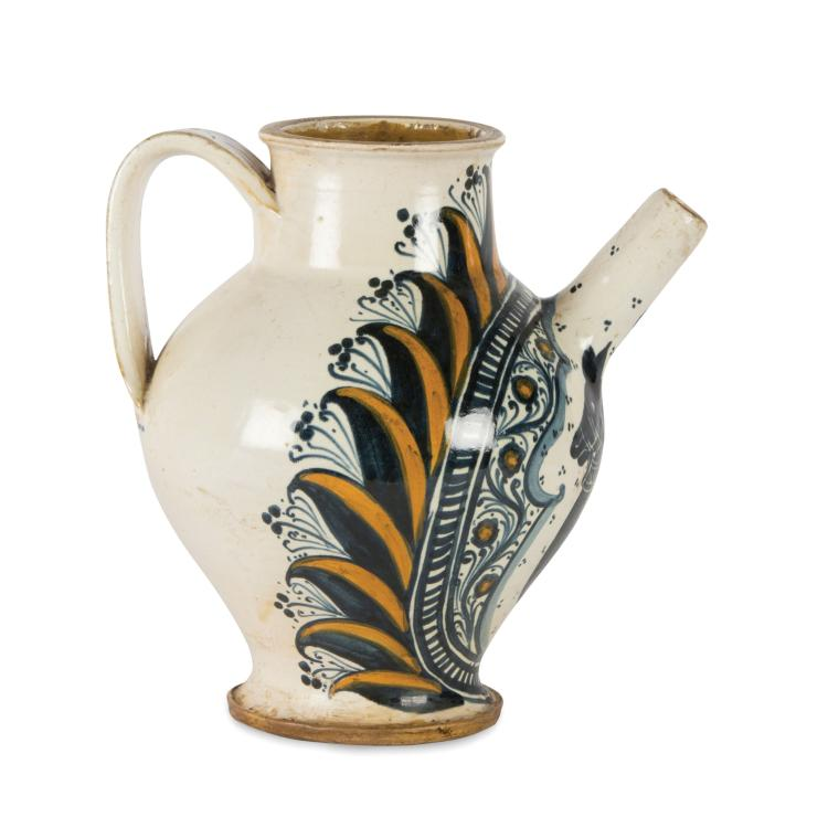 A jug, Deruta, late 15th century - early 16th century