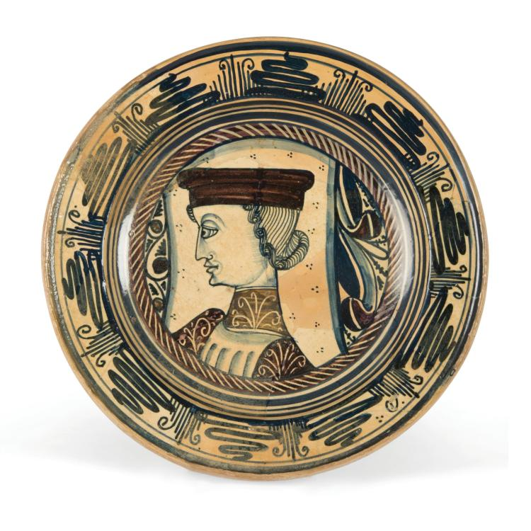 A plate, Deruta, second half of the 15th century