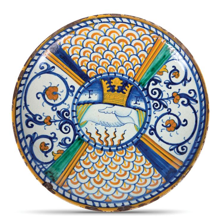A plate, Deruta, first half of the 16th century